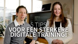 Read more about the article 5 tips voor een sterkere digitale training!
